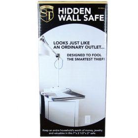 Wall Socket Hidden Safe